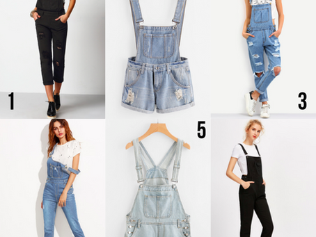Look 06 - Jardineira Jeans