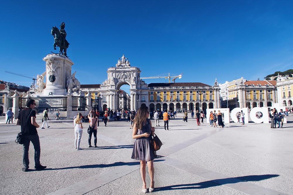 Praça do Comércio - Lisboa, Portugal (Duda Nascimento)