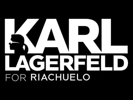 Karl Lagerfeld + Riachuelo