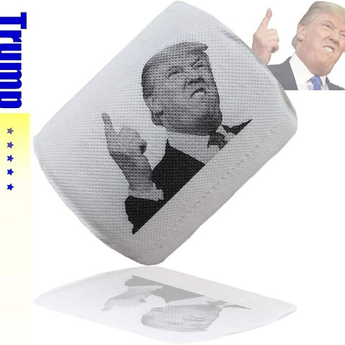 Donald Trump Toilet Paper , Highly Collectible Novelty Toilet Paper