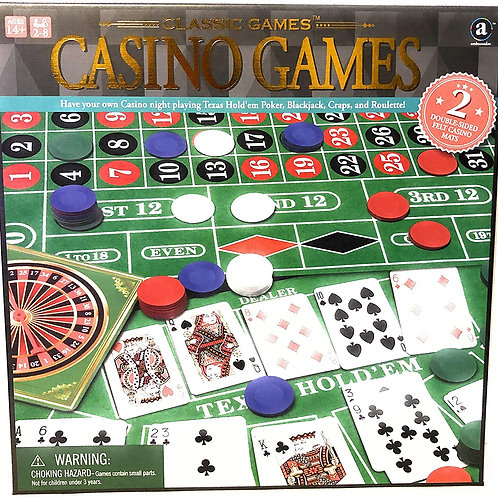 Ambassador Classic 4-in-1 Casino Games