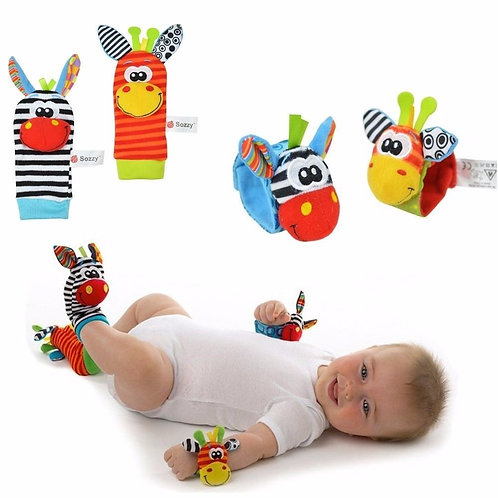 Babies & Infant Toy Socks & Baby Wrist Rattle