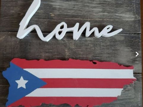 Puerto Rico Home Sign