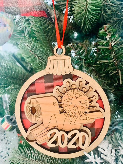 Survivor 2020 Christmas 🎄 Ornament