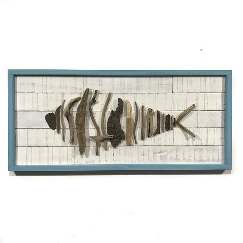 Driftwood Fish - Blue GIHS0015