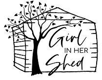 GIRL IN HER SHED