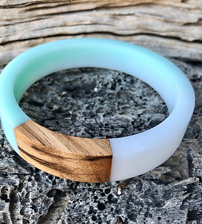 Zebra wood Resin Bracelet