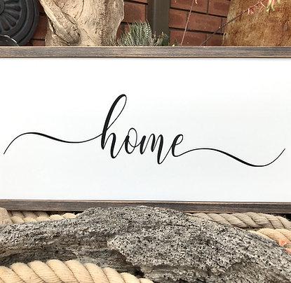 Framed Stencil - Home