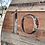 Thumbnail: Large Rustic Hardwood Clock.