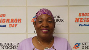 Assistant Volunteer Services Coordinator Joyce Page