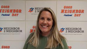 Assistant Coordinator for The Neighbor Games Megan Seeman