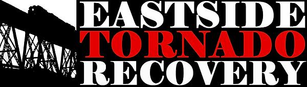 ETR Logo White on Black - Horizontal - F