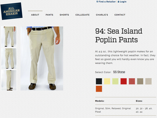 All American Khakis - Perfect For the Hot Days to Come!