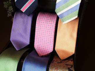 New Tie Selections from Geoff Nicholson!
