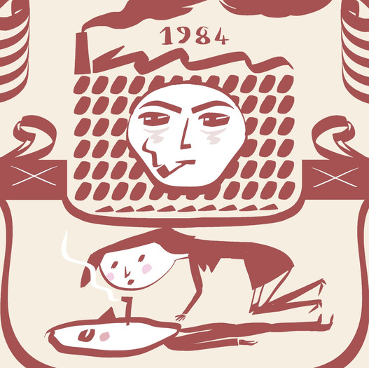 1984- Orwell's iconic novel