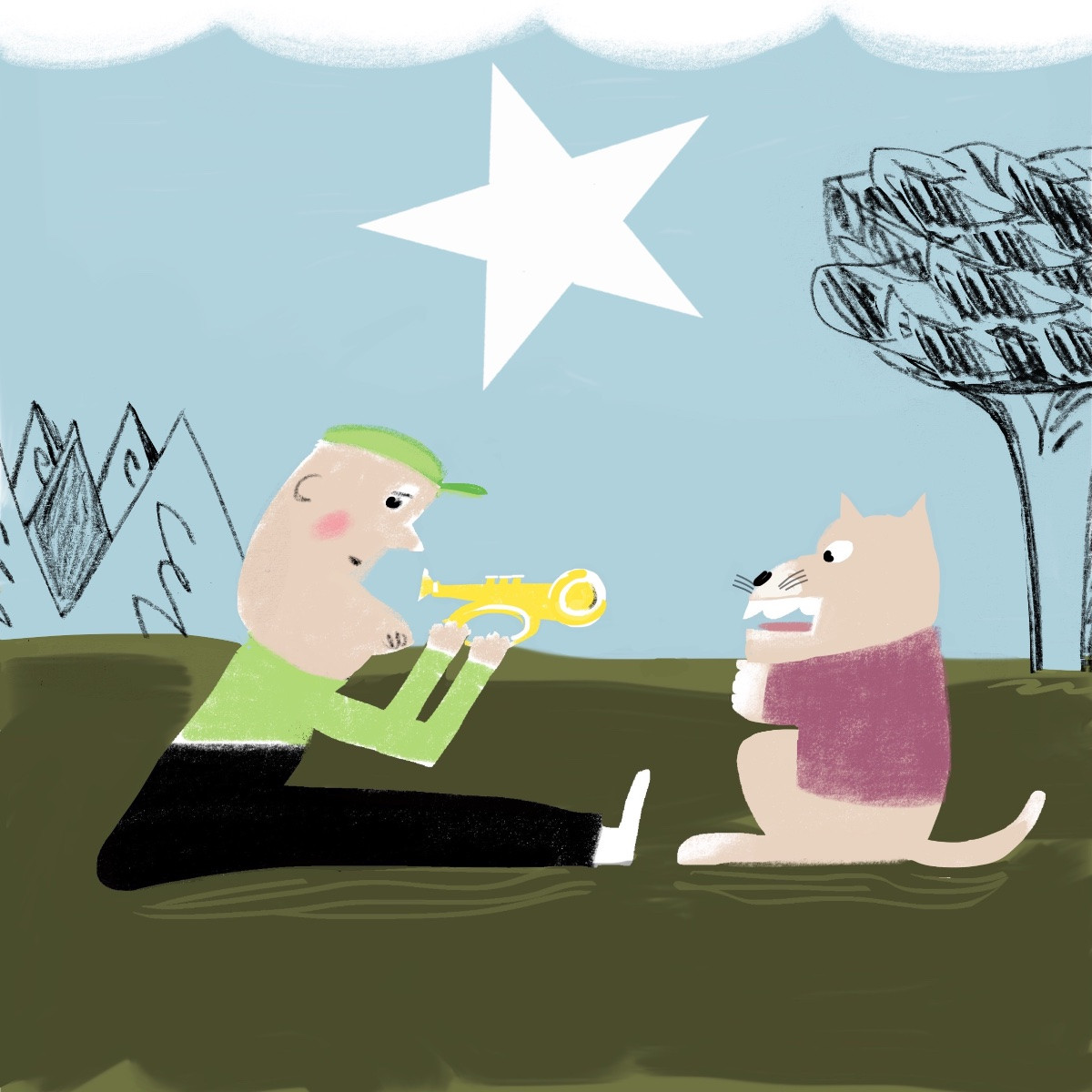 You can't teach an old dog new tricks. Blow that horn!