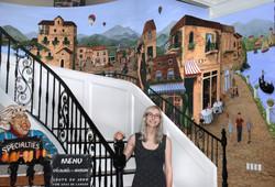 Stair Mural 1
