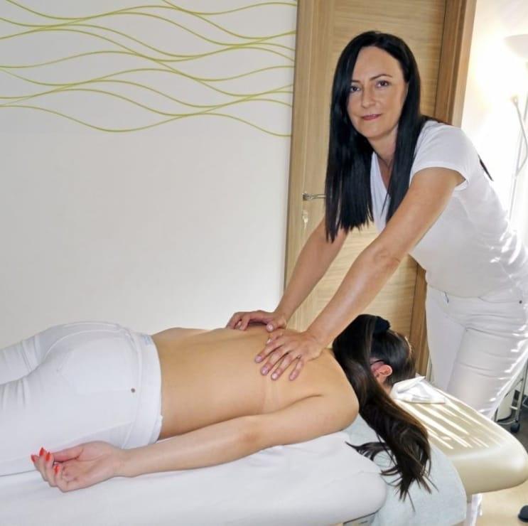 Masáž - Chrbát+krčna chrbtica