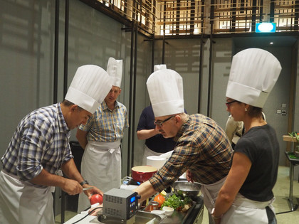 Cooking up a storm in Singapore