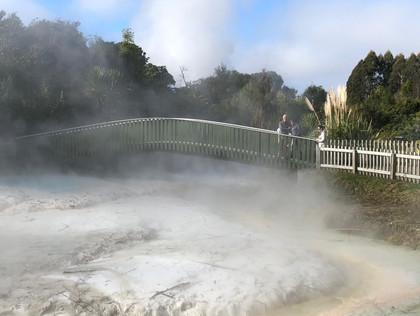 Hot Springs Lake Taupo