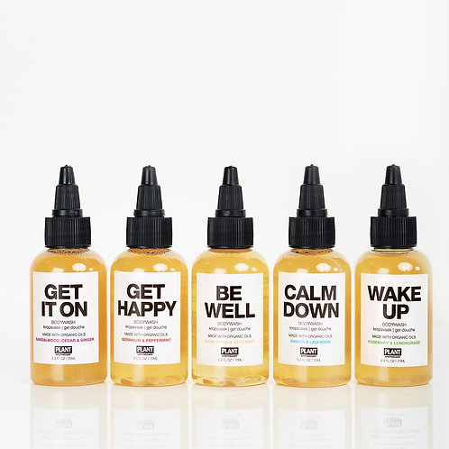 Plant Apothecary Set of 5 Body Washes