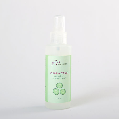 What a Face! Cucumber Renewal Toner
