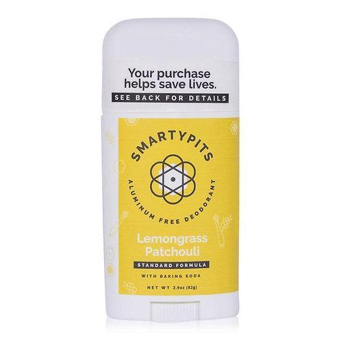 Smarty Pits Deodorant Lemongrass Patchouli