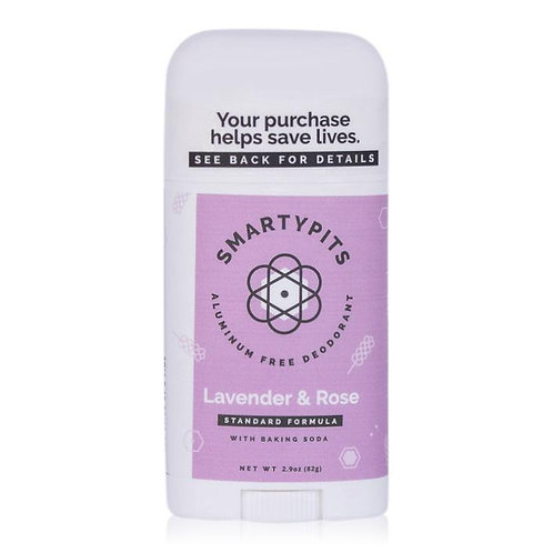 Smarty Pits Deodorant Lavender & Rose