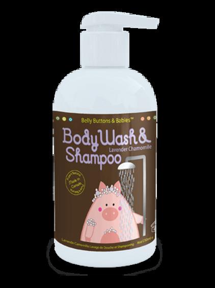 Body Wash & Shampoo Lavender Chamomile
