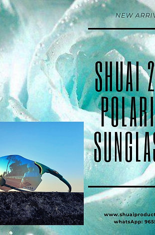 SHUAI 2 ALL POLARIZED SUNGLASSES (TIFFANY BLUE) NEW ARRIVAL