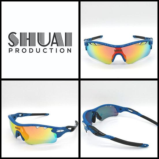 SHUAI POLARIZED SUNGLASSES (CLASSIC EDITION) 藍黑帥超
