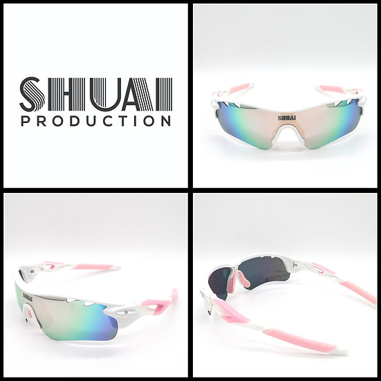 SHUAI POLARIZED SUNGLASSES (CLASSIC EDITION) 粉白帥超