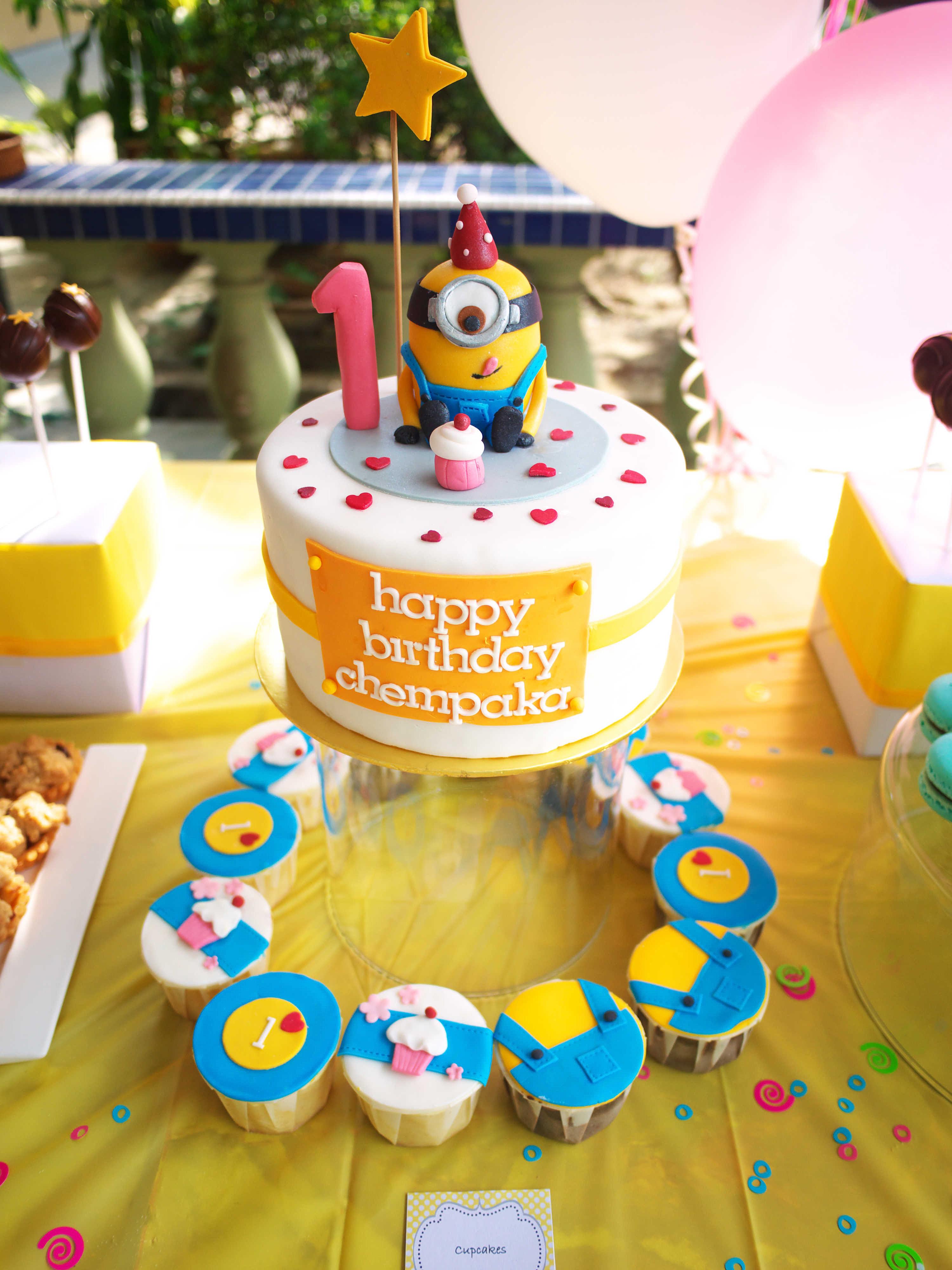 Minion Birthday Cake Pictures