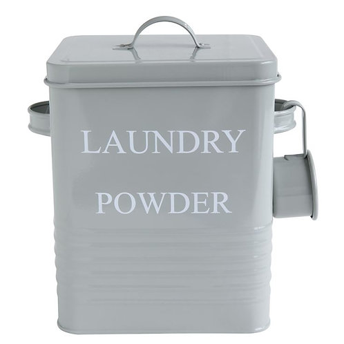 LAUNDRY POWDER Metal Container