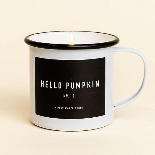 Hello Pumpkin Soy Mug Candle