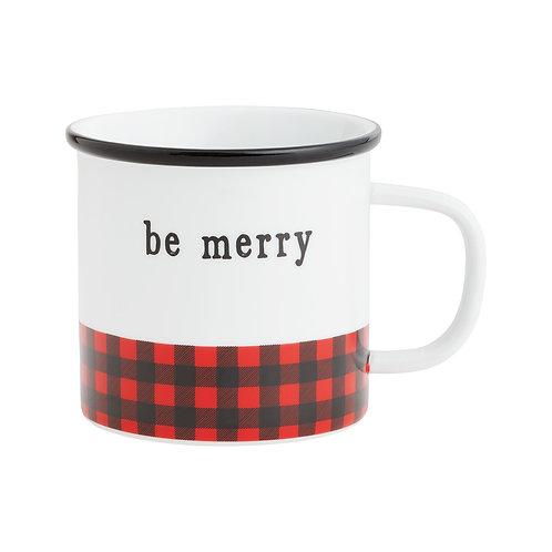 Be Merry Camp Mug