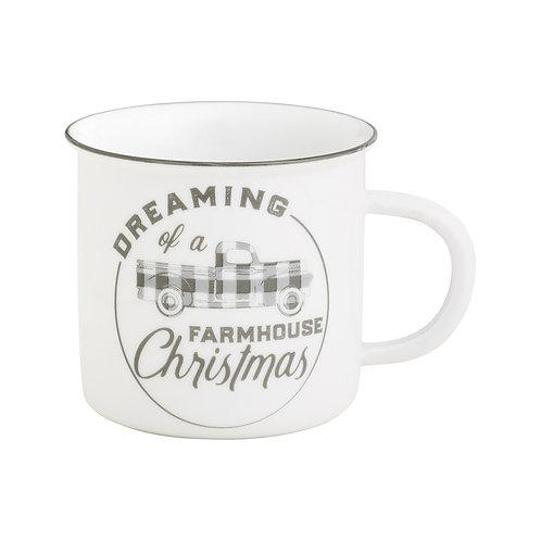 Farmhouse Christmas Camp Mug