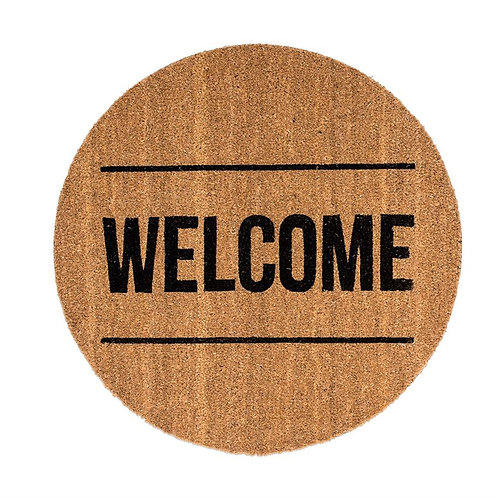 Round Welcome Door Mat