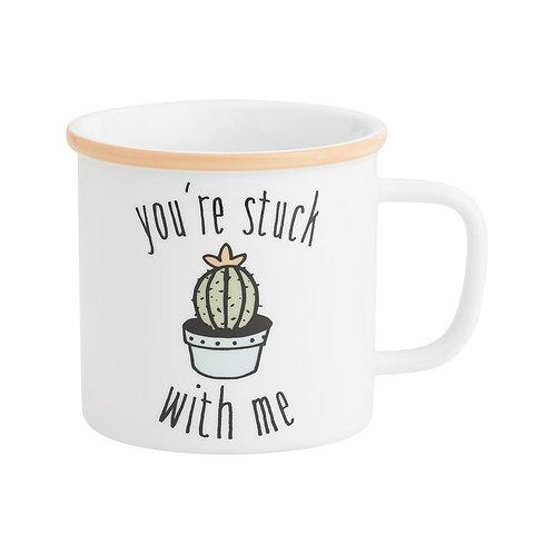 Stuck with Me Camp Mug