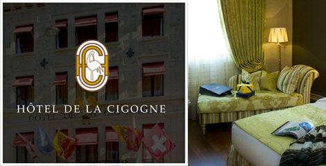 témoignage Hôtel Relais Château La Cigogne Genève