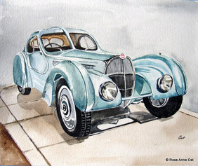 Matt's Bugatti