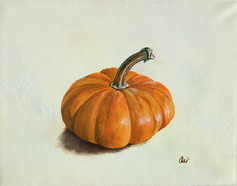 Small Orange Gourd