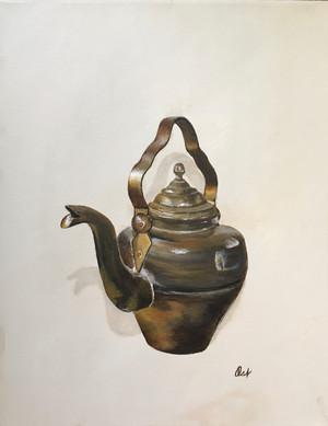 Little Brass Tea Pot