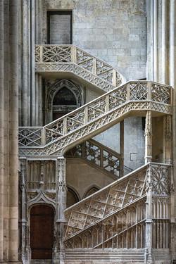 Night Stair Rouen 0532