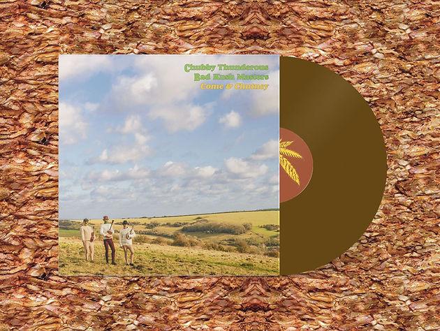 Chubby Thunderous Bad Kush Masters - 'Come & Chutney' on vinyl now!