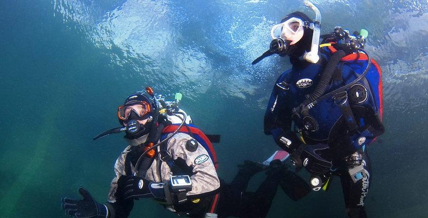 Nice buoyancy!