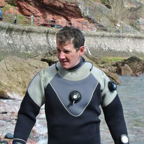 Cameron - First Class Diver!