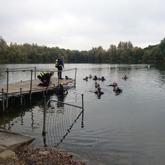 We're Training - Pike Attack and Drysuit at Wraysbury
