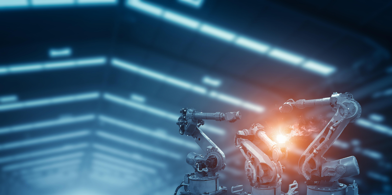 Automatic welding robot mechanical arm i