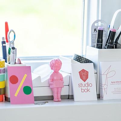 Nynke en haar Studio Bok